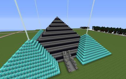 Minecraft Pyramid Spawn