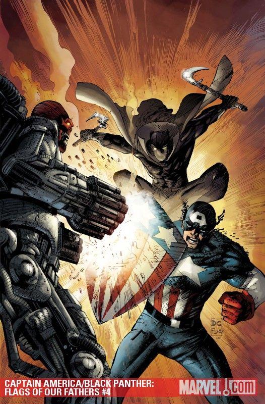Black Panther vs Captain America by Denys Cowan | Black ... - photo#11