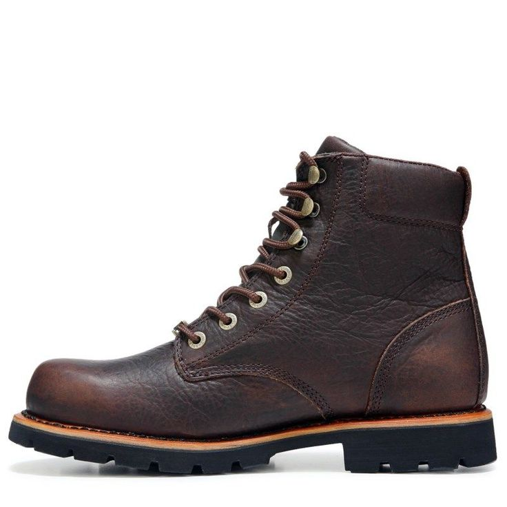 Harley Davidson Men's Vista Ridge Lace Up Boots (Brown Leather) - 12.0 M