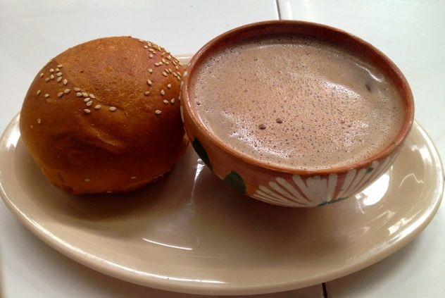 Estampas de Mi Ciudad - Chocolate de Agua y Pan de Yema Foto: Manuel Rivera