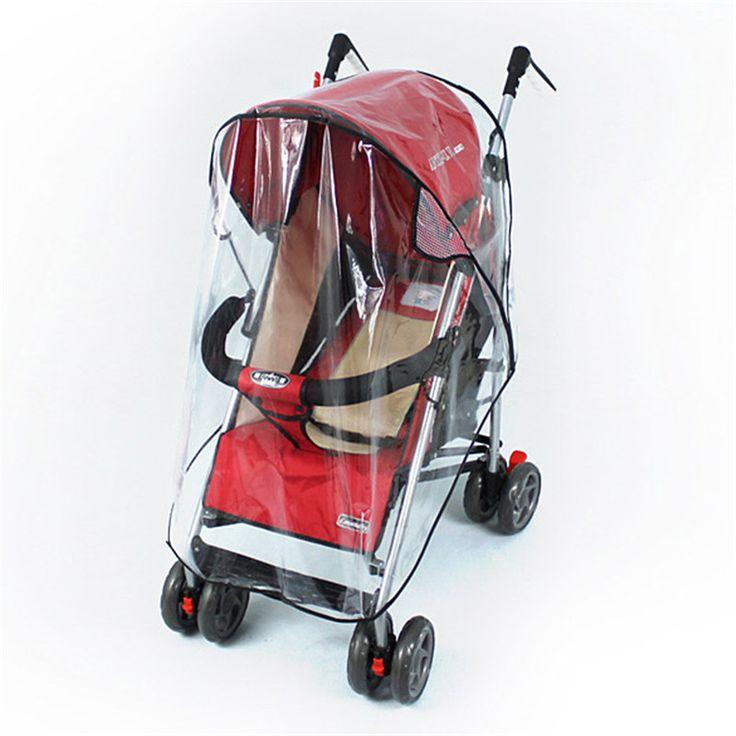 Universal Cochecitos sillas de paseo Del Carro de Bebé A Prueba de agua y Durable de la Cubierta Rain Shield Viento