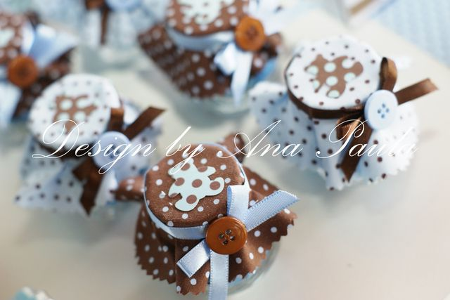 Gorgeous bear party favors #partyfavors #bears