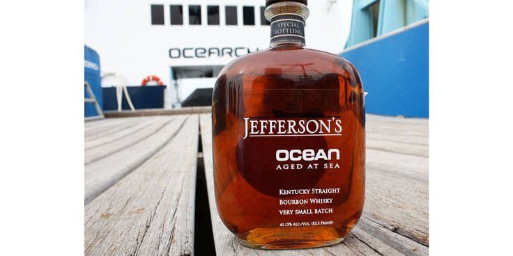 How Jefferson's Ocean Bourbon Was Aged at Sea - TownandCountrymag.com