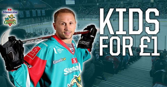 The Stena Line Belfastgiants Are Offering 1 Kids Tickets For