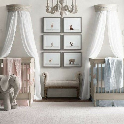 The 25 best Twin nurseries ideas on Pinterest Baby room