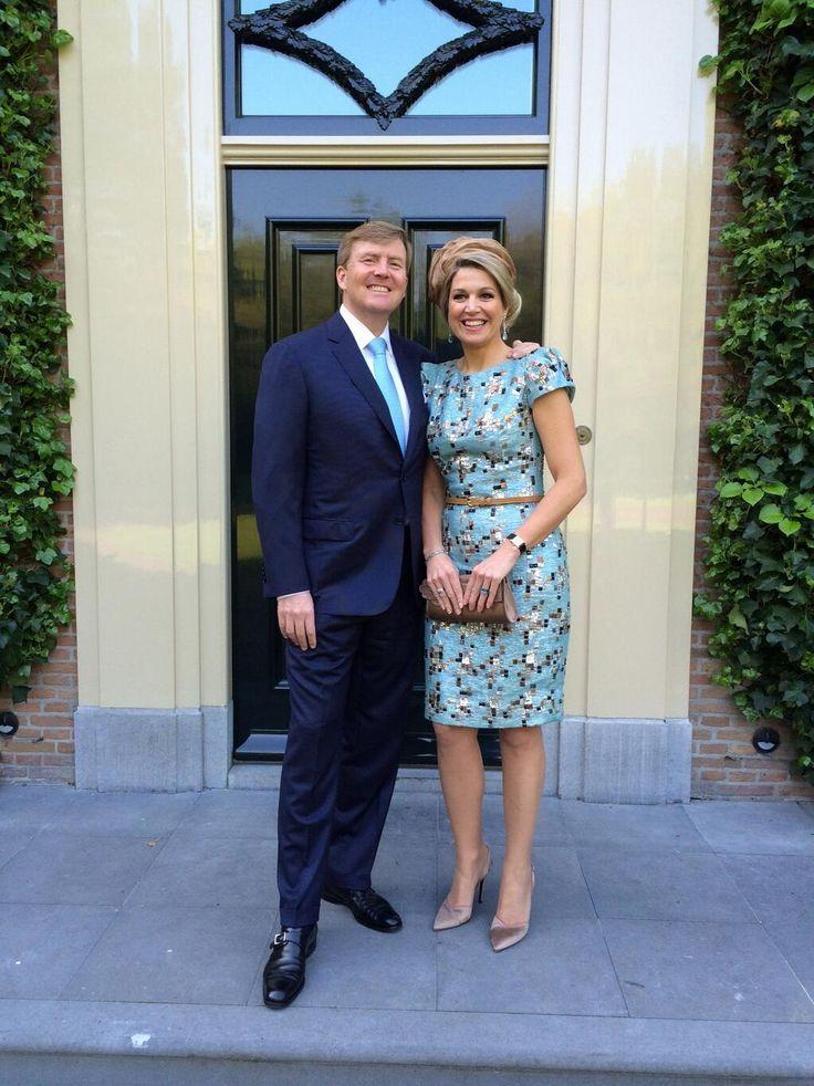 "Koning Willem-Alexander en Koningin Máxima: ""We wensen iedereen vandaag een hele mooie #Koningsdag toe!"" pic.twitter.com/xREfFu7qgV"