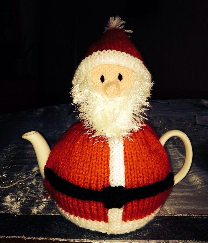 Father Christmas tea cosy.