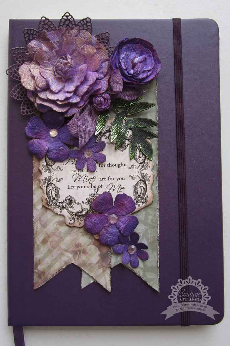 kerrie gurney [it's all about ME]: Thoughts Notebook | Couture Creations #couturecreationaus #journal