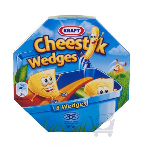Cheestik Wedges – Kraft – 160g | Shop Australia