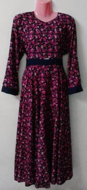 aturgaya blogspot.com: Toturial Membuat Long Dress & Peplum
