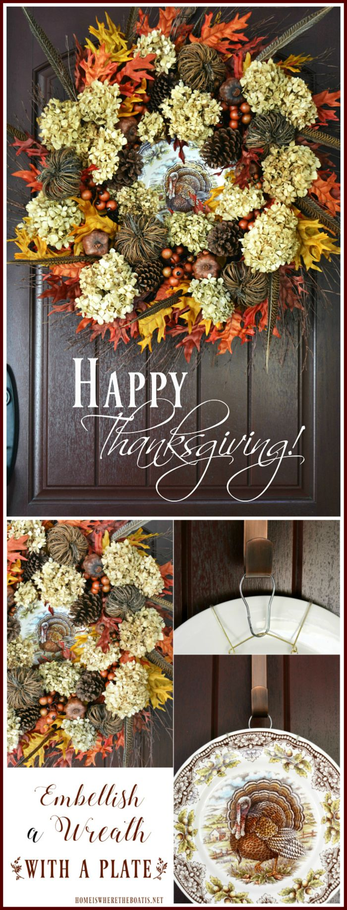 I'm ready for all things turkey with Thanksgiving around the corner! I gathered my collection of turkey plates for a little tabletop fun and seasonal display in the Potting Shed. It will soon…