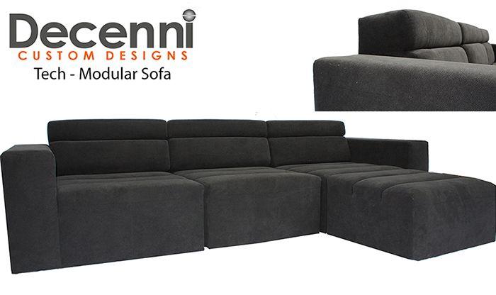 Decenni Modular Tech Sofa Decenni Custom Furniture My Designs Pinterest Sofas And Tech