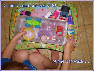 Creative and Curious Kids!: Wordless Wednesday: At the Car Wash...: Kids Stuff, Curious Kids