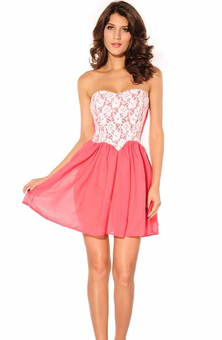 Fine-Strapless-Party-Dress-for-Women