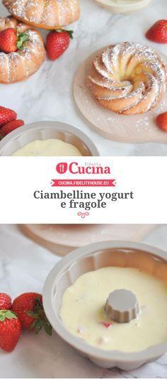 Ciambelline yogurt e fragole