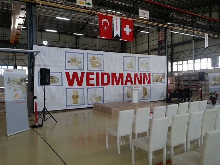 weidmann gebze fabrika açılışı 2014