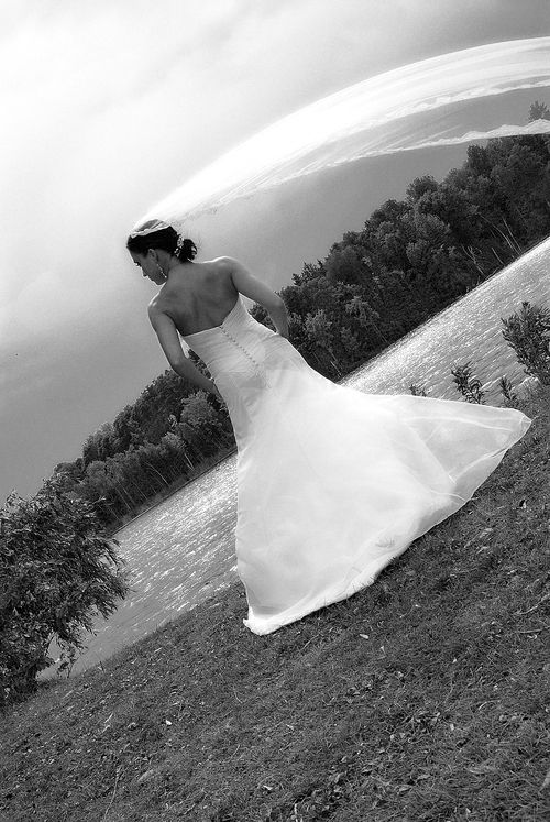 Windswept Bride.