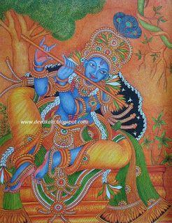 ദേവകല   ----                                                   mural paintings: Mural Painting