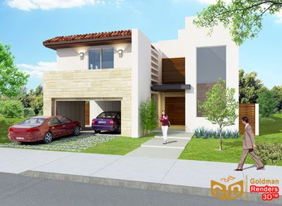 M s de 1000 ideas sobre fachadas de casas chicas en for Fachadas de casas modernas en hermosillo