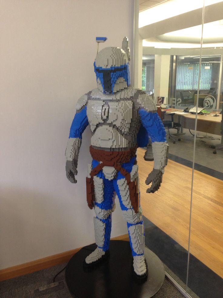 meet Jango Fett who has taken up residence in our CEO's office!   www.sales-i.com