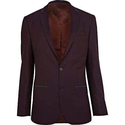 Dark purple suit jacket €54.00