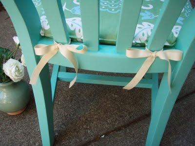 diy chair cushion - Kitchen Table Cushions
