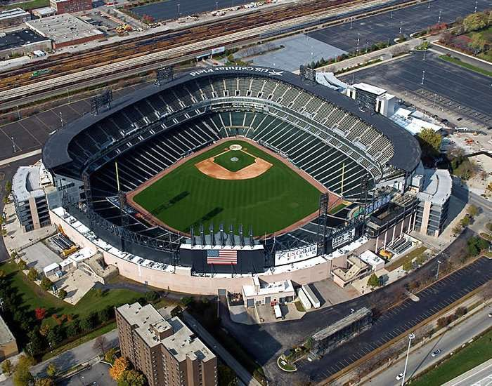 Guaranteed Rate Field In 2020 Baseball Park Chicago White Sox Baseball Mlb Stadiums