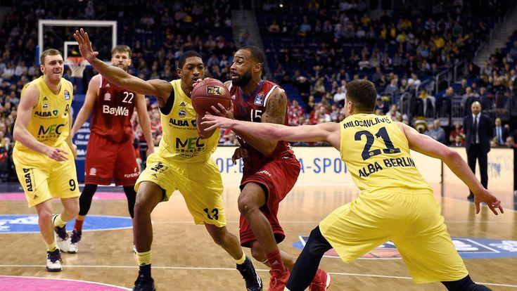 Halbfinale im Pokal: Bayern-Basketballer bezwingen Alba Berlin