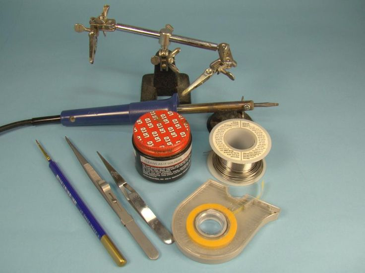 A typical selection of tools and materials needed for soldering. Introduction Long gone are the days when making a scale model involved just plastic. Modern kits are often multimedia with resin, m...