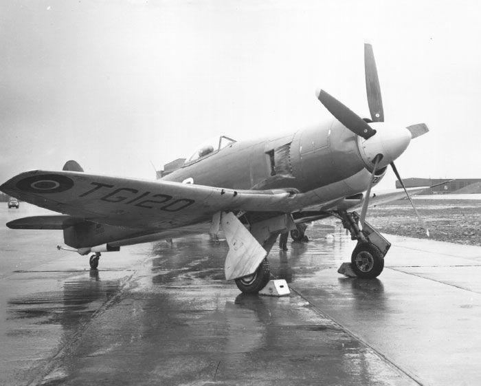 Hawker Sea Fury, Royal Canadian Navy
