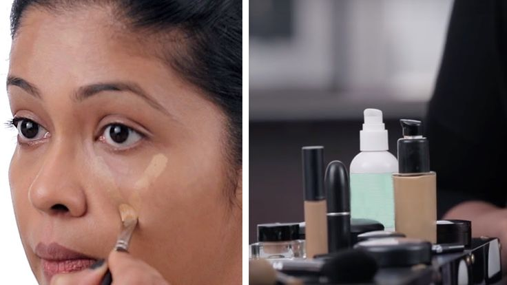 How To Apply Concealer To Hide Dark Circles, Pimples And Pigmentation - ...