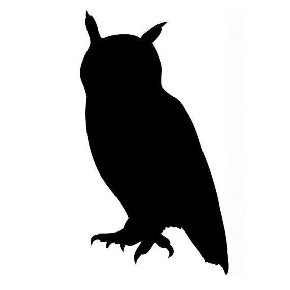 The  Best Owl Stencil Ideas On   Owl Silhouette