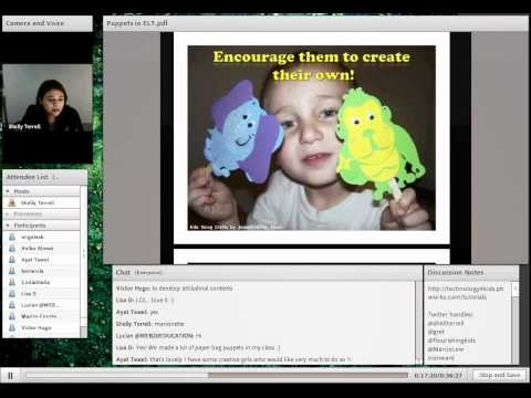 30min Webinar: Teaching with Puppets in the Classroom