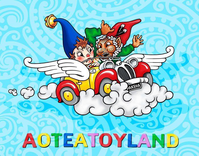 Aotetoyland- Lester Hall Art