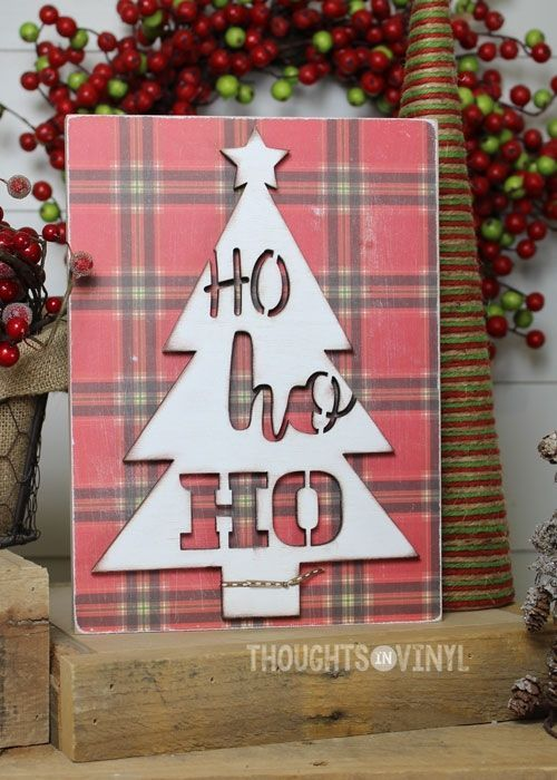 Ho Ho Ho Tree Christmas Wood Craft Woodcraftstosell Diy Wood
