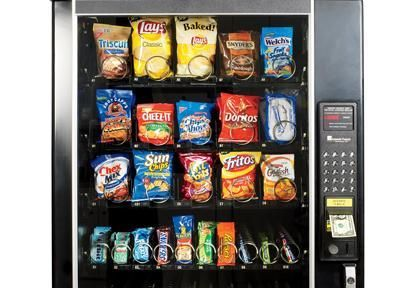 Low-calorie vending machine snacks, healthy snacks, 400 calorie snacks at the vending machine