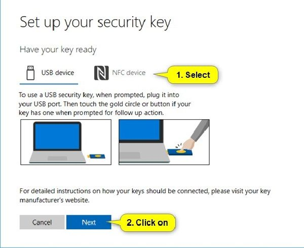 How To Configure Security Key For Your Microsoft Account Security Microsoft Accounting