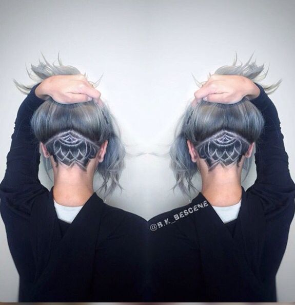 Silver undercut.. Would look awesome with a skull shaved into it!!!