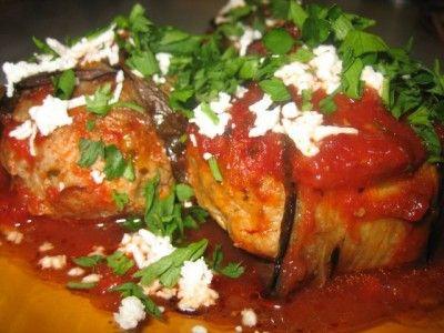 Мелидзанес пальоритикес - греческая кухня : Вторые блюда