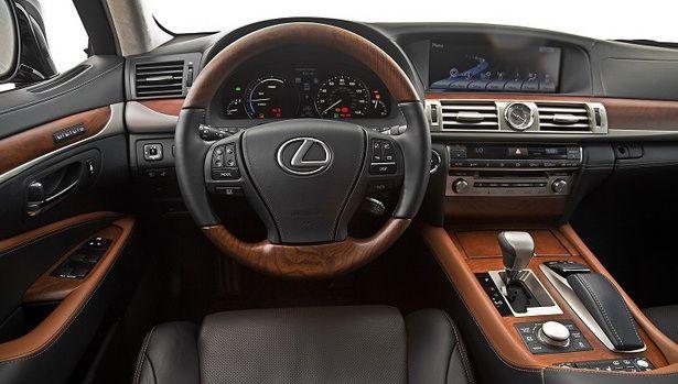 2017 Lexus LS 460 - interior