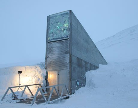 """The """"doomsday"""" seed vault"""