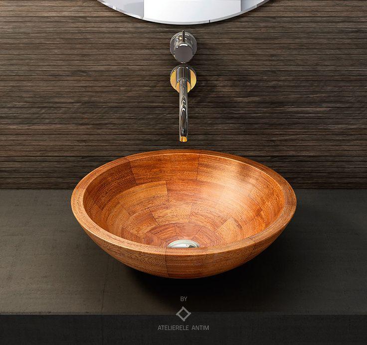 AFZELIA #wooden #basin