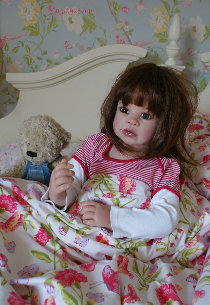 Sweet Gorgeous Lacey By Monika Levenig Reborn Toddler