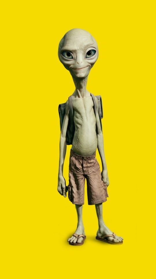 He's my favourite little alien. Paul from the 2011 movie.