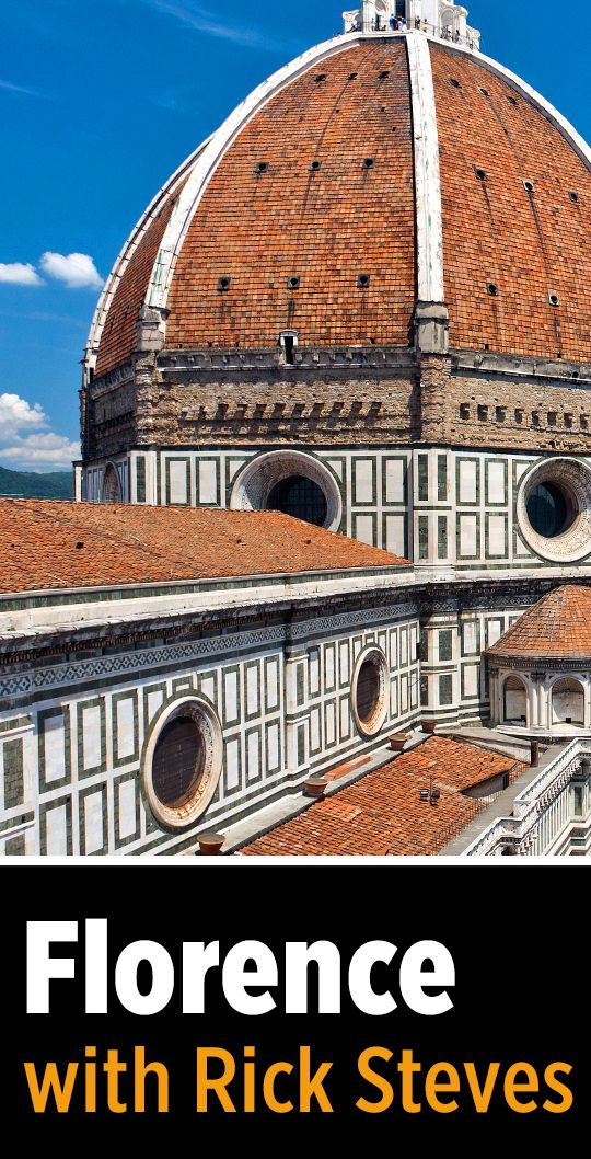 Video: Rick Steves travel talk about Florence