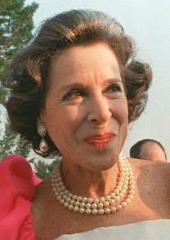 Kitty Carlisle.  It's the pearls.  And the mid-Atlantic accent.  I can't help but love her.