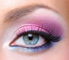 Voorbeelden voor het aanbrengen van makeup oogschaduw bij blauwe ogen   Rubriek.nl