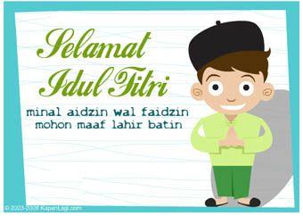 minal aizin wal faidzin :) mohon maaf lahir dan batin :)