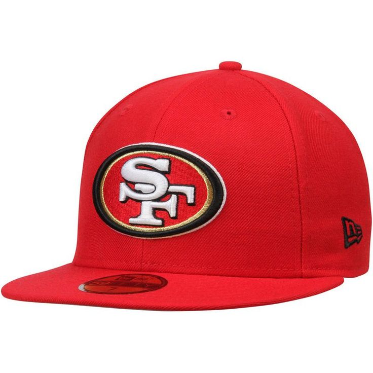 San Francisco 49ers New Era Omaha 59FIFTY Fitted Hat - Scarlet
