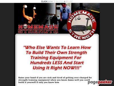 Homemade Strength | Homemade Equipment | Build Your Own Training Equipment | Make Your Own Strength Training Equipment for Less Money
